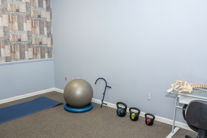 Workout and Therapy Tools in Private Office